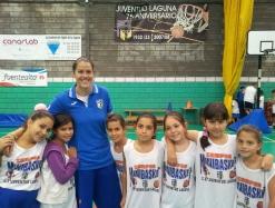Laura Bejarano - Campus Minibasket Verano Juventud Laguna